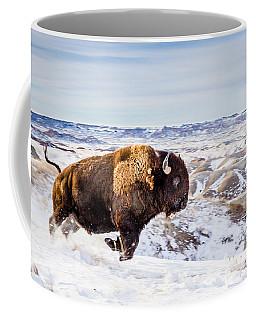 Thunder In The Snow Coffee Mug by Rikk Flohr