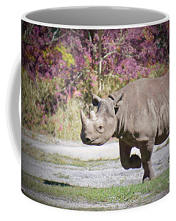Coffee Mug featuring the painting Thunder Road 2 by Judy Kay