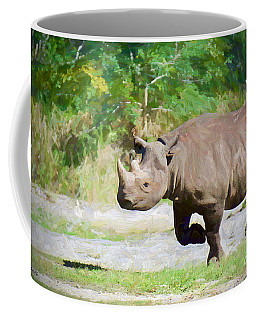 Coffee Mug featuring the painting Thunder Road by Judy Kay
