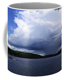 Thunder Shower At Slim Lake Coffee Mug