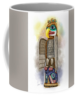 Thunderbird And Whale Coffee Mug
