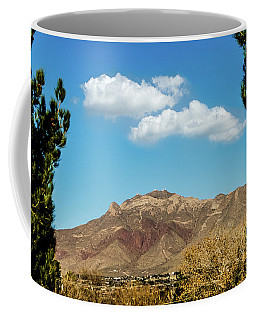 Thunderbird On Mount Franklin Coffee Mug