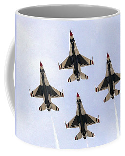 Thunderbirds Away Coffee Mug by Kevin Fortier