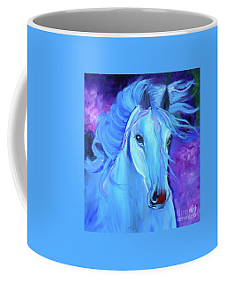 Coffee Mug featuring the painting Thunderbolt 111 by Jenny Lee