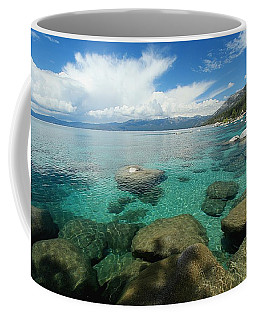 Coffee Mug featuring the photograph Thundershower Eye Candy by Sean Sarsfield