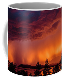 Thunderstorm At Sunset 2 Coffee Mug