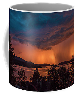 Thunderstorm At Sunset Coffee Mug
