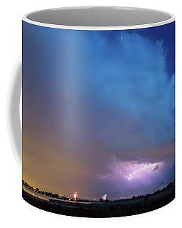 Thunderstorm Edge Over Boulder Colorado Coffee Mug