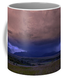 Thunderstorm In The Mountains Coffee Mug