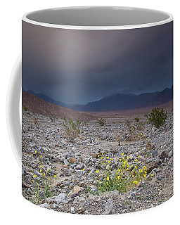 Thunderstorm Over Death Valley National Park Coffee Mug