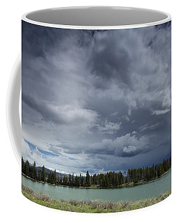 Thunderstorm Over Indian Pond Coffee Mug
