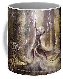 Thunderstorm Wizard Coffee Mug