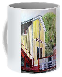 Thurmond Wv Train Station Coffee Mug by Sandy McIntire