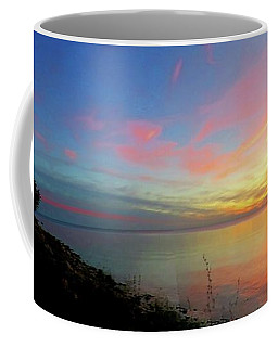 Sunset At Tibbetts Point Light, 2015 Coffee Mug