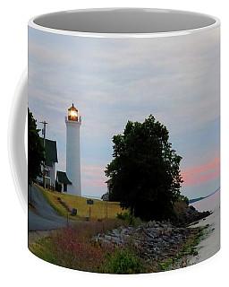 Tibbetts Point Light Sunset Coffee Mug