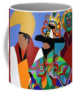 Tibetan Monks Cham Dancer Coffee Mug