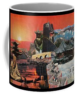 Tibetan Montage 1984 Coffee Mug by Gino Sansonetti