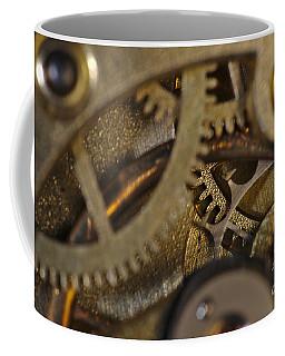 Tic Tac Wheels Coffee Mug by Angelo DeVal