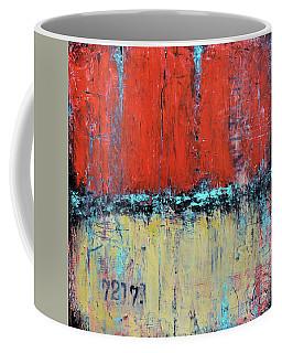 Ticket No. 72173 Coffee Mug by Patricia Lintner