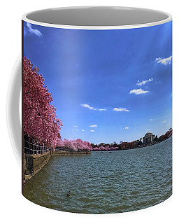 Tidal Basin Cherry Blossoms Coffee Mug