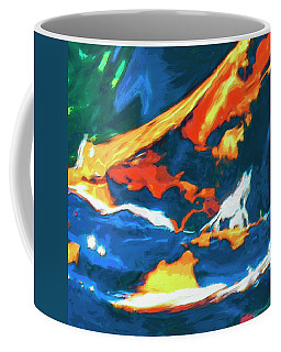 Coffee Mug featuring the painting Tidal Forces by Dominic Piperata