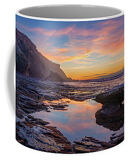 Tidal Pool At Sunset Coffee Mug