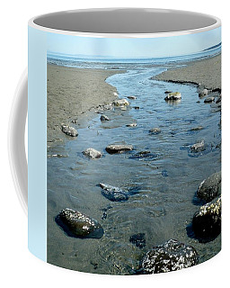 Coffee Mug featuring the photograph Tidal Pools by 'REA' Gallery