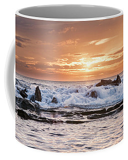 Coffee Mug featuring the photograph Tidal Sunset by Heather Applegate