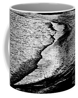 Tidal Wave Reaching For The Shoreline Coffee Mug by Carol F Austin