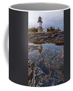 Tide Pools At Marshall Point Lighthouse Coffee Mug