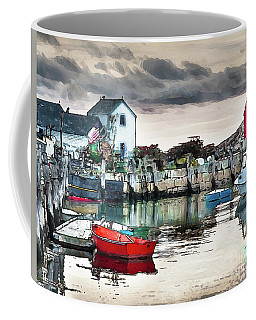 Tide's Out Coffee Mug by Tom Cameron