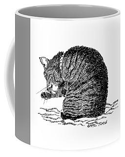 Tidying Up - Art By Bill Tomsa Coffee Mug