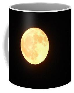 Tie Dyed Orange Moon Coffee Mug