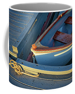 Coffee Mug featuring the photograph Tied Up by Rick Berk