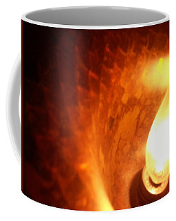 Coffee Mug featuring the photograph Tiffany Lamp Inside by Robert Knight