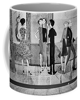 Tiffany Mural Coffee Mug