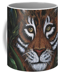 Coffee Mug featuring the painting The Hunt by Alga Washington