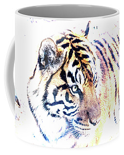Tiger Abstract Coffee Mug
