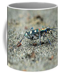Tiger Beetle Coffee Mug by Djoko Widodo