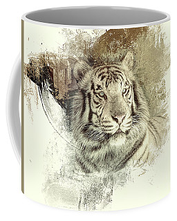 Coffee Mug featuring the photograph Tiger by Clare VanderVeen