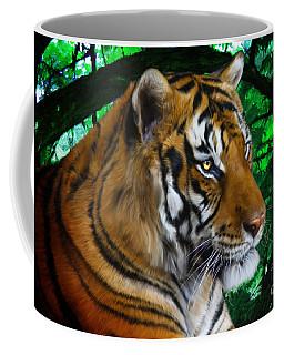 Tiger Contemplation Coffee Mug