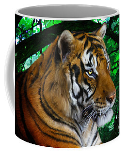 Tiger Contemplation Coffee Mug