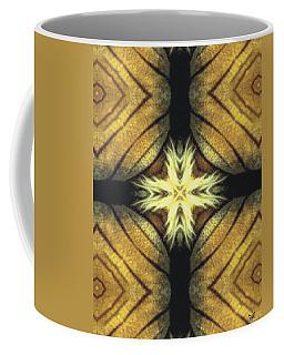 Tiger Cross Coffee Mug by Maria Watt
