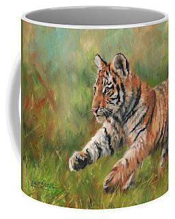 Tiger Cub Running Coffee Mug