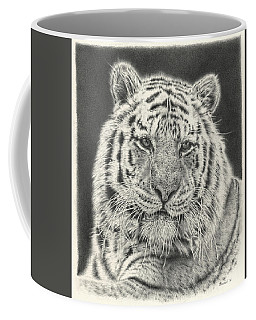 Tiger Drawing Coffee Mug