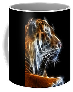 Tiger Fractal 2 Coffee Mug