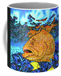 Tiger Grouper And Tang Fish Coffee Mug