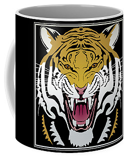 Tiger Head Coffee Mug
