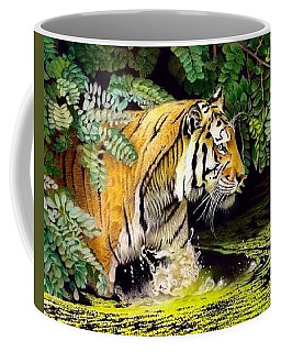 Tiger In The Dundurban Delta Coffee Mug