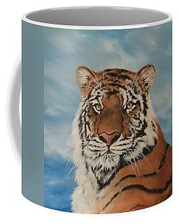 Bengal Tiger Coffee Mug by Jean Walker